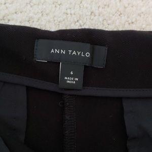 Ann Taylor Pants - Ann Taylor Wide Leg Knit Crop Pant